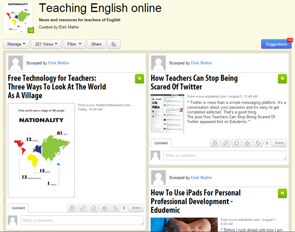 Teaching English Online screenshot